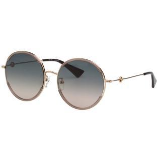 【VEDI VERO】圓形 太陽眼鏡(藕色+亮片)