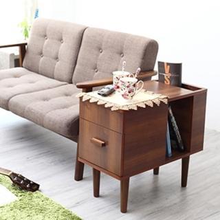 【班尼斯】風歐優質多用途邊桌/茶几桌/收納(茶几)