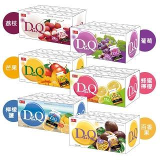 【盛香珍】Dr. Q蒟蒻果凍量販箱6KG系列(葡萄/荔枝/芒果/蜂蜜檸檬/檸檬鹽5種口味每箱約300小包)