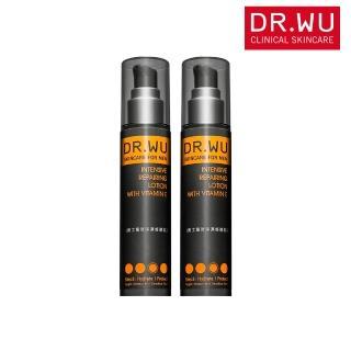 【DR.WU 達爾膚】(雙入組) 男士高效保濕修復乳50ML
