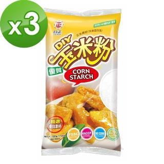 【日正食品】玉米粉500g*3包