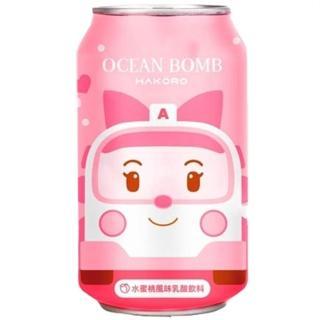 【Y.H.B】HAKORO Amber 水蜜桃風味乳酸飲料(320ml/罐)