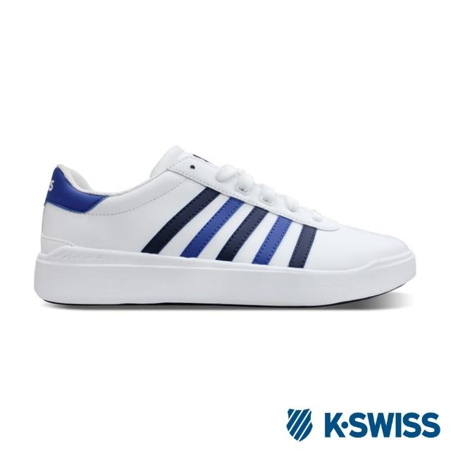 【K-SWISS】Heritage Light Stripes L SE休閒運動鞋-男-白/藍