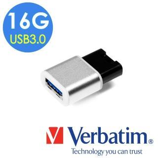 【Verbatim 威寶】16GB USB3.0 蘋果專用迷你金屬隨身碟