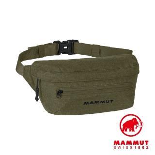 【Mammut 長毛象】Classic Bumbag Melange 經典混色隨身腰包 2L 橄欖綠 #2520-00631(混色隨身腰包)