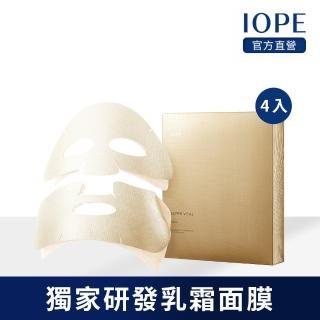 【IOPE 艾諾碧】時光金鑰緻顏面膜 18ml(4入)