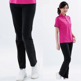 【遊遍天下】女款彈性涼感抗UV長褲GP10001黑色(XS-XL)