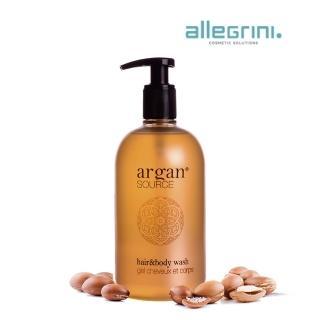 【即期品】ALLEGRINI艾格尼 ARGAN SOURCE髮膚清潔露500ml