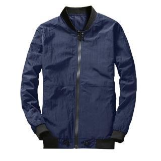 【iDeatry】韓風男生外套 防曬修身外套 機車防風外套 薄外套 夾克外套 送男友生日禮物(外套 薄外套 夾克)