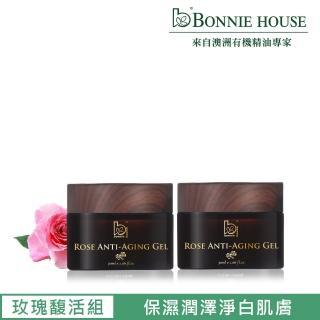 【Bonnie House】玫瑰青春凍齡凝膠30ml 2入組