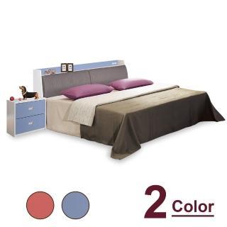【時尚屋】泰倫斯5尺雙人床CV9-28-1+WG28-1-5(不含床頭櫃-床墊 免運費 免組裝)