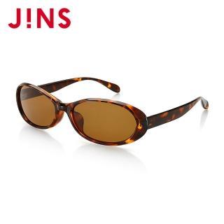 【JINS】時尚橢圓膠框太陽眼鏡(特ALRF15S988)/