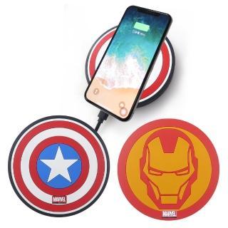 【Marvel 漫威】無線充電座/充電板(手機隨放隨充超方便)