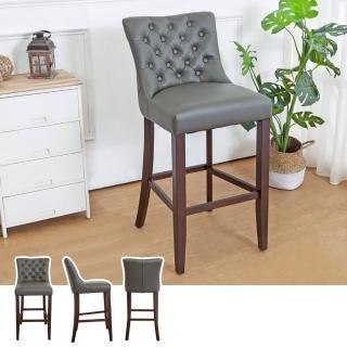 【Bernice】藍恩實木吧台椅/吧檯椅/高腳椅(高)