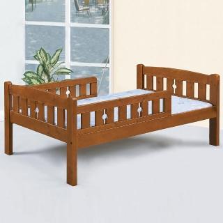 【Homelike】藤亦護欄床架組-單人3.5尺(不含床墊)