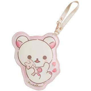 【San-X】懶妹的夢幻水晶球系列皮革車票夾(拉拉熊)