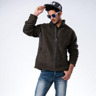 【JORDON 橋登】男款 POLARTEC+WINDSTOPPER防風刷毛保暖外套(750)