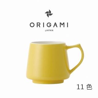 【ORIGAMI】日本摺紙咖啡Aroma 陶瓷馬克杯 320ml 11色