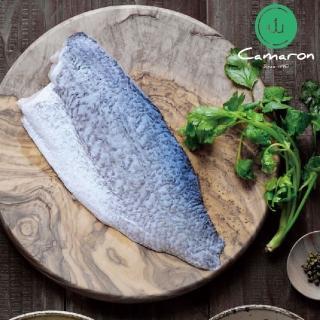 【卡馬龍】台灣在地海水鱸魚清肉片10片組(200g/片)