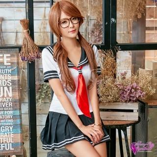 【Sexy Cynthia】角色扮演 夢幻純情學生三件式角色服(性感情趣/夜店/派對)