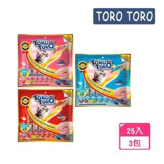 【TOROTORO】寵愛貓用肉泥25入-3包組