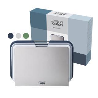 【Joseph Joseph】好抽取止滑砧板三件組(大-霧灰藍)