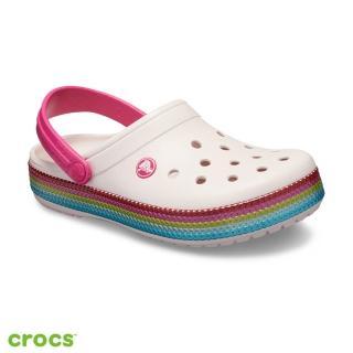 【Crocs】中性鞋 閃亮卡駱班(205801-6PI)