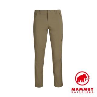 【Mammut 長毛象】Hiking Pants Men 經典健行長褲 橄欖綠 男款 #1022-00420