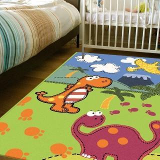 【范登伯格】卡比諾★恐龍樂園地毯(117x170cm)