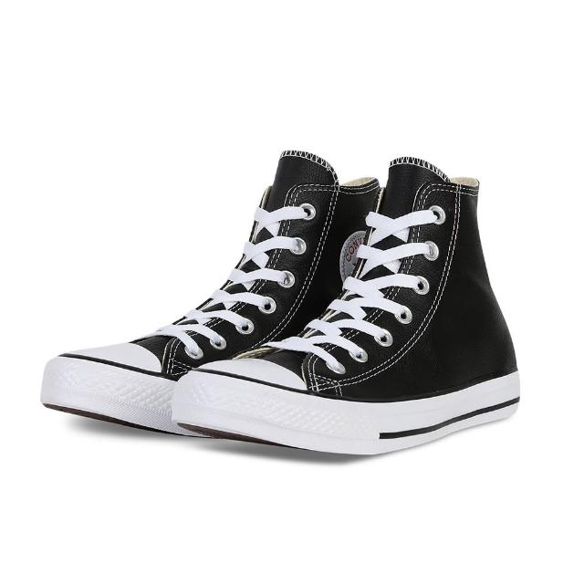 【CONVERSE】CT All Star HI LTHR 黑 132170C(男休閒鞋)
