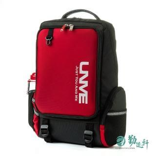 【UnMe】韓風休閒人體工學超輕後背書包(紅色)