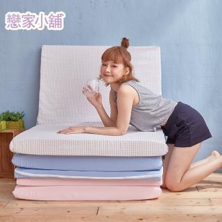 【戀家小舖】台灣製透氣收納床墊 單人尺寸(2色可選 銷售破萬件)