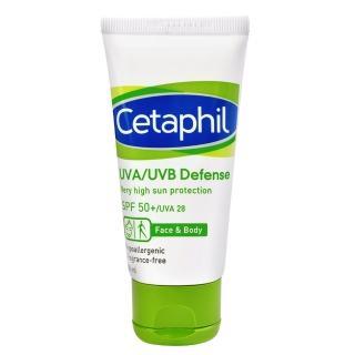 【Cetaphil 舒特膚】極緻全護低敏防曬霜50ml