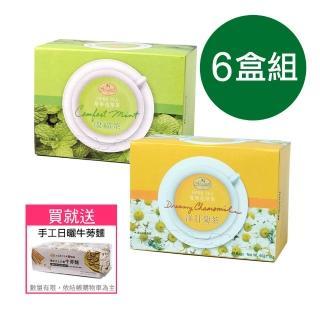 【曼寧】洋甘菊茶包量販盒1.5gx40入(花草茶、洋甘菊茶、無咖啡因、放鬆)/