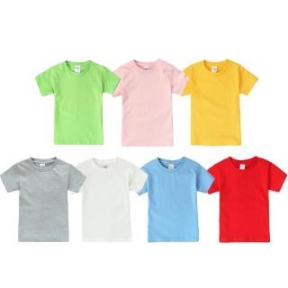 【Baby童衣】短袖上衣 兒童純棉短袖T恤 90070(共7色)