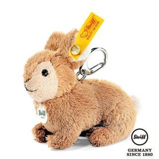 【STEIFF德國金耳釦泰迪熊】Keyring Rabbit 兔子(經典吊飾)