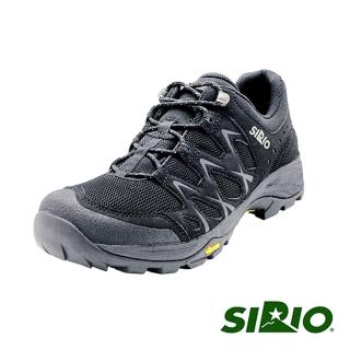 【SIRIO】PF116-BL Gore-Tex短筒登山健行鞋(黑色)