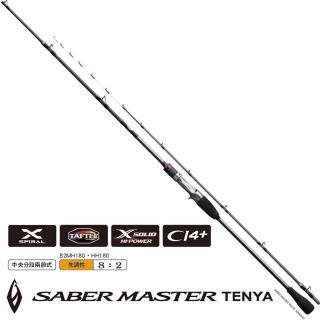 【SHIMANO】SABER MASTER TENYA T82MH180 船竿