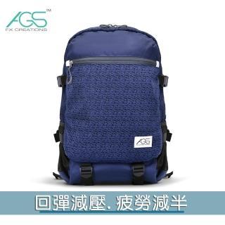 【FX CREATIONS】FCB 15.6吋AGS回彈減壓電腦後背包-藍色(FCB69903A-98)