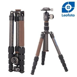 【Leofoto 徠圖】LX-225CT+XB-32Q碳纖反摺輕便三腳架雲台套裝