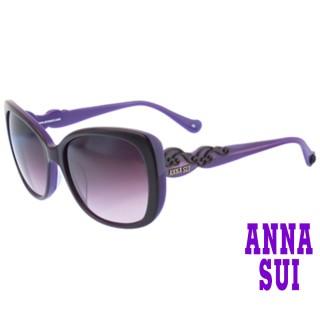 【ANNA SUI 安娜蘇】安娜圖騰系列太陽眼鏡(AS931-233-紫)