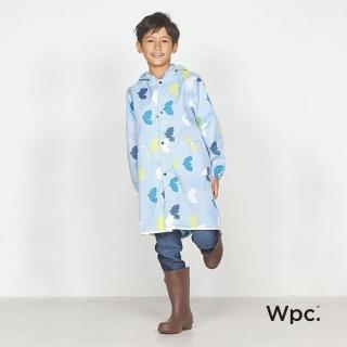 【w.p.c】空氣感兒童雨衣/超輕量防水風衣 附收納袋(悠遊鳥L)