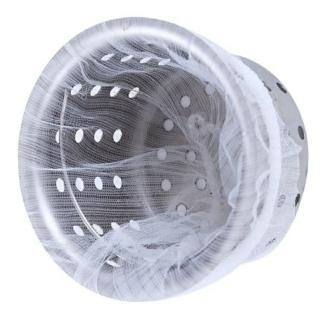 【Ainmax 艾買氏】流理台排水口濾網 濾水網 阻擋菜渣雜物( 出貨 共300入)