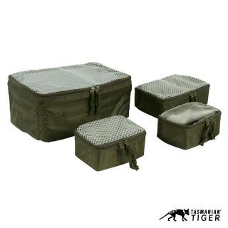【Tasmanian Tiger】Pouch Set 模組化彈性網袋包組 橄欖綠(TT7571-331)
