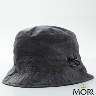 【MORR 沐悅】可收納防水帽(花紗黑)