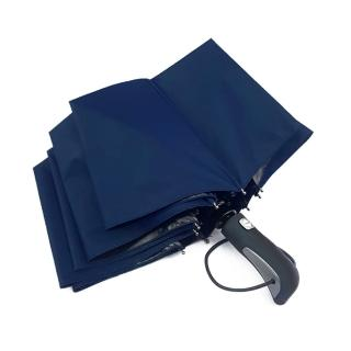 【iDeatry】十骨大傘面自動傘 黑膠不透光晴雨傘 折傘 摺疊傘(雨傘 自動傘 摺疊傘)