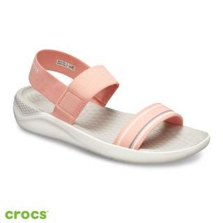 【Crocs】女鞋 LiteRide女士涼鞋(205106-6KP)
