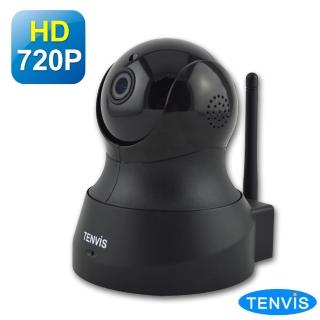 【TENVIS】TH-661 HD無線網路攝影機(黑色)