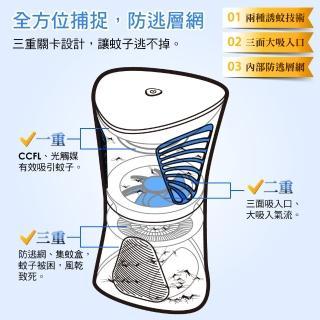 【大家源】超值2入組 光觸媒吸入式捕蚊燈(TCY-6309)
