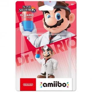 【Nintendo 任天堂】amiibo公仔 瑪利歐醫生(明星大亂鬥)